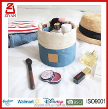 Cosmetic Bag for Women Make Up Case cylinder travel bag