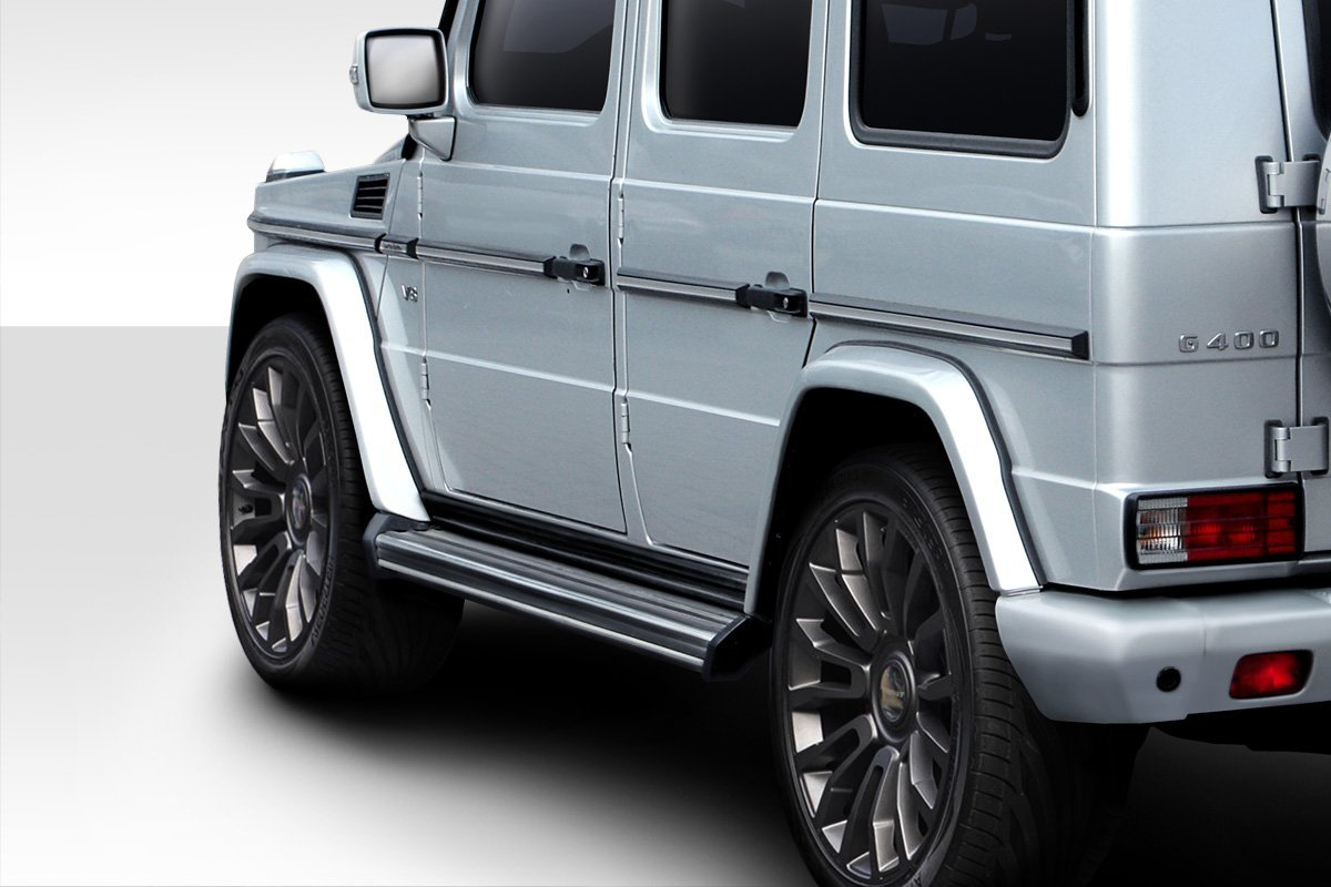 2000-2010 Mercedes G Class W463 Eros Version 3 Over Fenders - 4 Piece