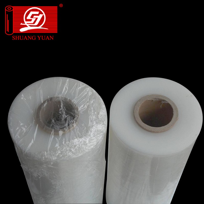 length can be reach 6000m LLDPE plastic Machine Stretch Film for bunding