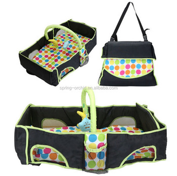 New Style Infant Baby Carry Cot Bag Diaper Portable Newborn Travel Folding