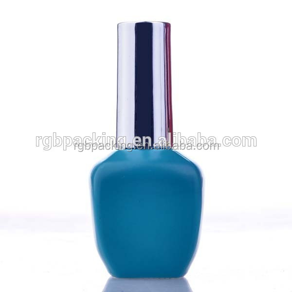wholesale hot sale shaped UV LED nice jell nail polish bottle