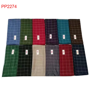 Beautiful colorful grid printing lady wholesale scarf hijab