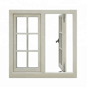Professional aluminum window door with weather strip