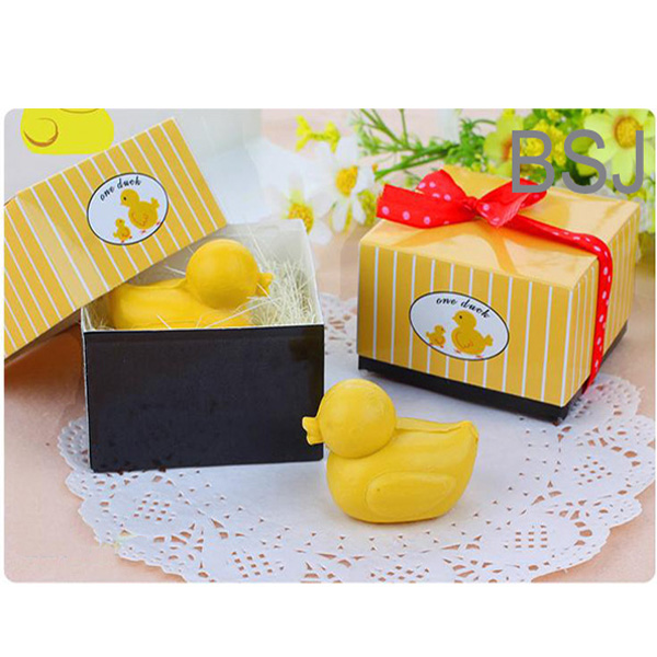100g Small yellow duck wedding gift organic cheap soap