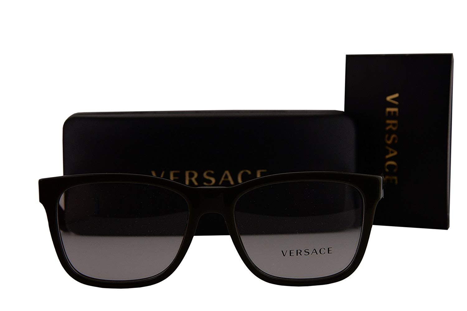 fc58df1100 Get Quotations · Versace VE3243 Eyeglasses 55-17-145 Military Green w Demo  Clear Lens 5193