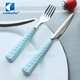 Mirror polishing 18/0 stainless steel banquet cutlery , fork spoons knife dinner set