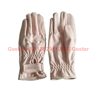 lady horse riding glove