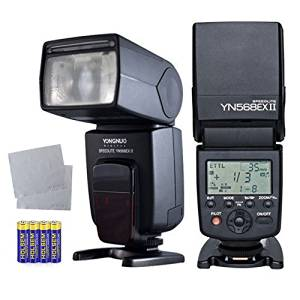 Yongnuo flash YN568ex ii Wireless Flash TTL Flash Speedlite for CANON Camera flash canon 50d + Two Free OOPSTEK Cleaning cloth for camera lenses canon lenses
