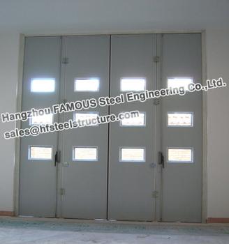 Sectional Overhead Folding Doors For Industrial Workshop - Buy ...