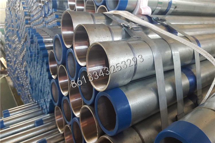 SHS hollow sections GI pipe for construction