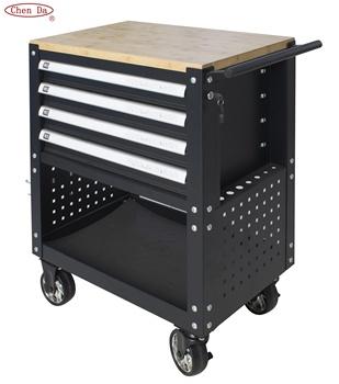 05f601a99 Nueva llegada 4 cajones del gabinete del cajón del metal Caja de  Herramientas Carro de herramienta