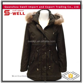 Eco Friendly Polyester Winter Chinese Women Down Jacket
