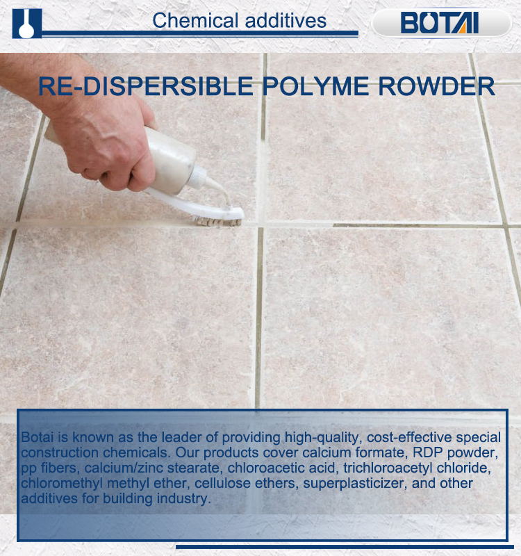 Redispersible Powder For Tile Grout