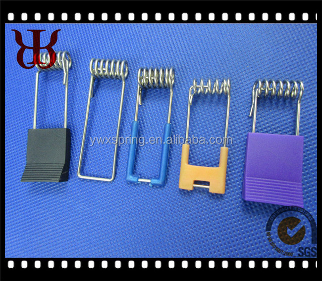 1.5mm bule rubber coated galvanized steel led downlight torsion spring clip