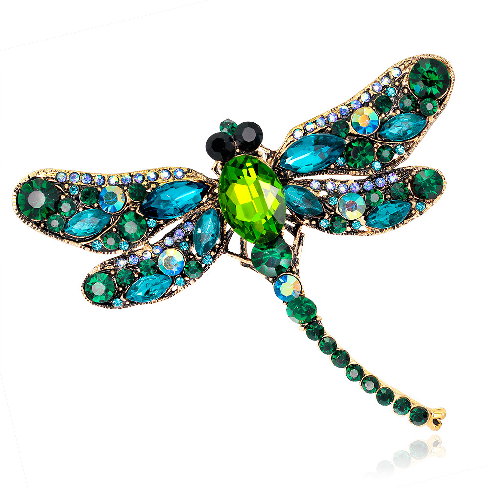 brooch amazon pin brooches pins color multi jewellery dp vintage crystals and jewelry peacock fashion style com plaza