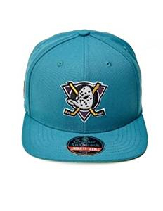 on sale 672bb 03d9a Get Quotations · Anaheim Mighty Ducks 20th Anniversary American Needle  Adjustable Snapback Cap Aqua