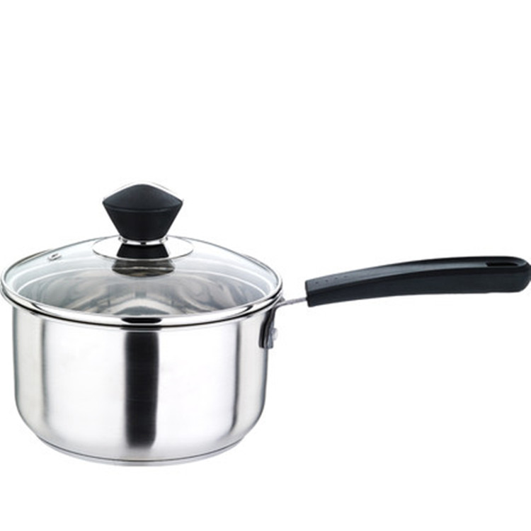 High Quality Popular Saucepan Stainless Steel Milk Pan 16cm