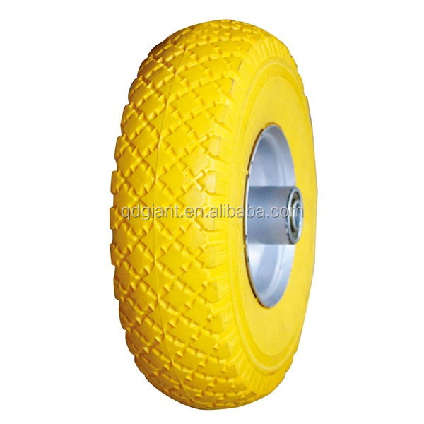 Portable and durable flat free tire 3.00-4 for sale
