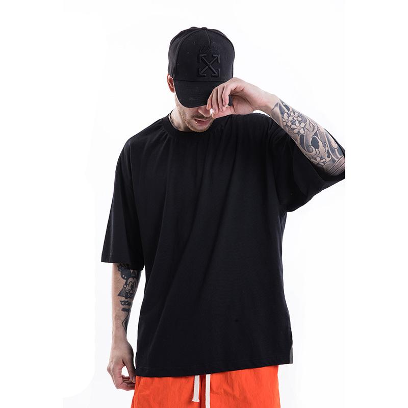 เสื้อผ้าผู้ชาย 2019 Hip Hop 100% Cotton O-Neck Harajuku Streetwear Casual T เสื้อผู้ชายขนาดใหญ่เสื้อ T