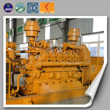 CE ISO 10KVA-1000KVA natural gas generator fuel consumption with CHP for using