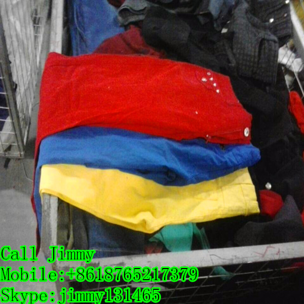 Low price Chinese first grade well sorted used clothes Congo