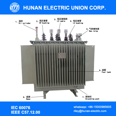 Hot selling product 1000 kva 33kv oil immersed transformer