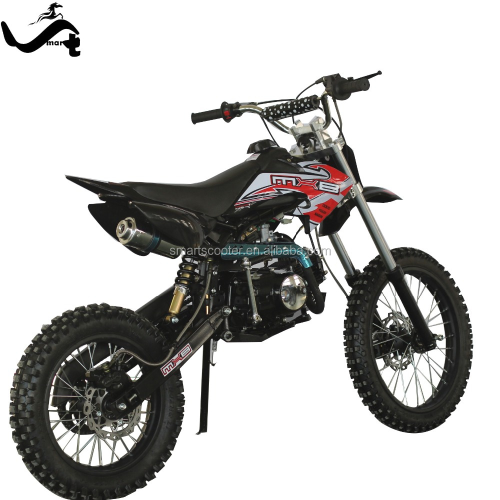 Beautiful cheap 110cc 2 stroke 125cc for sale big wheel dirt bike/ pit bike