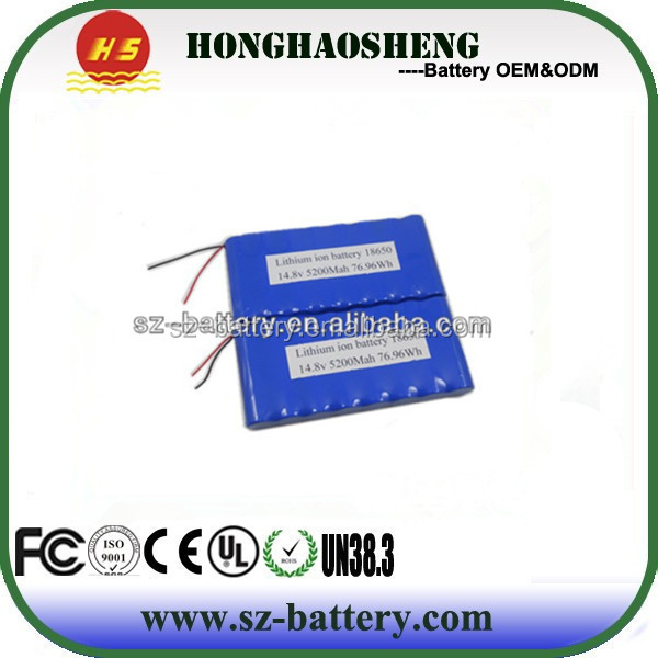 OEM portable hot products 7.4volt 18650 battery li-ion for electric bike kit 2s4p lithium battery case