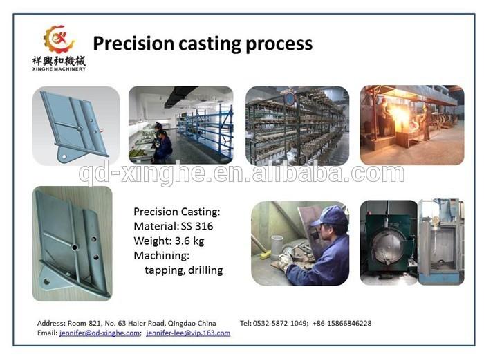 Hot Sale Oem Metal Precision Casting Silica Sol Casting Impro ...