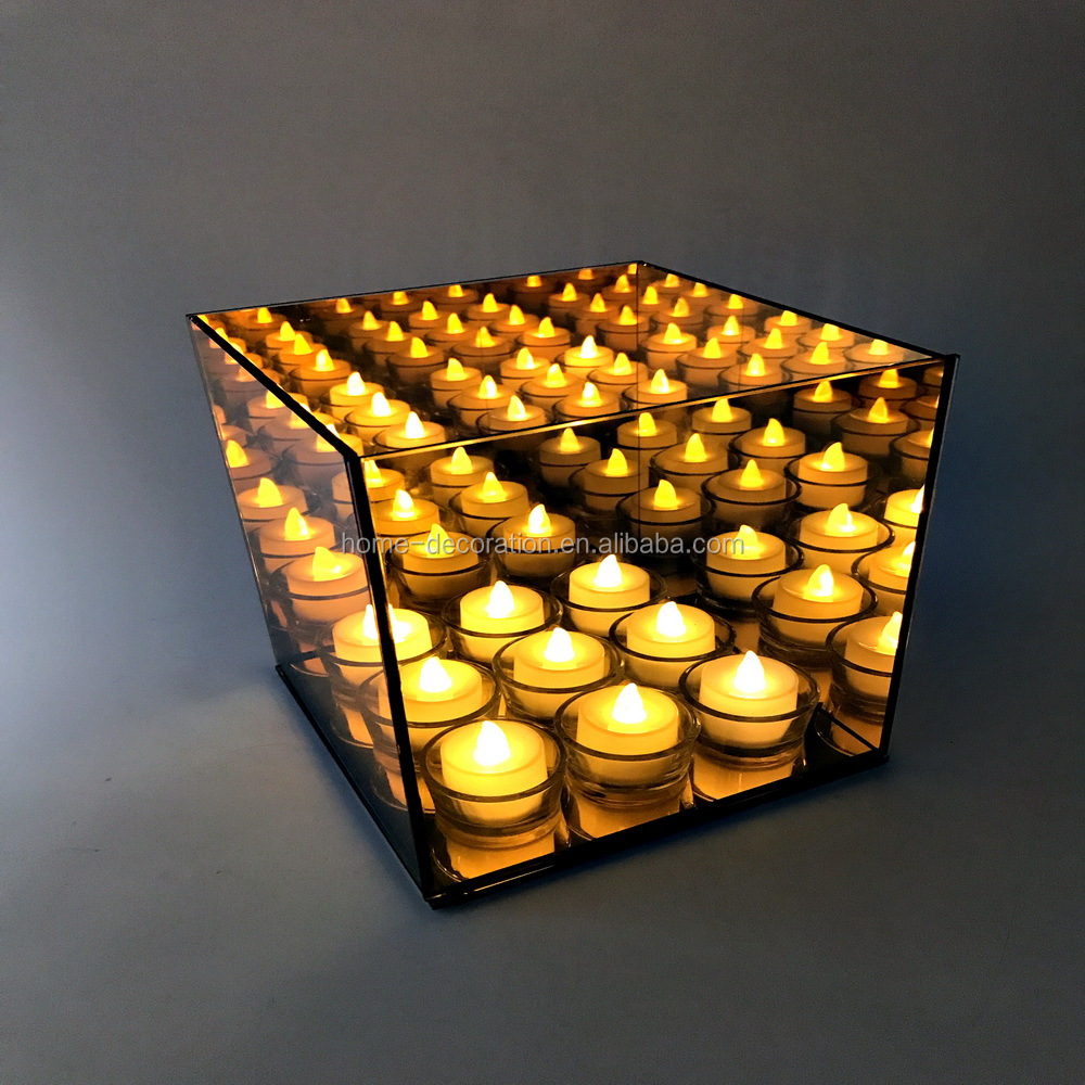 9 등 infinity (gorilla glass) 설정 tealight cube 캔 홀더 made in china