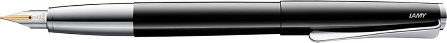 Lamy Unisex Studio Fountain Pen - Piano Black