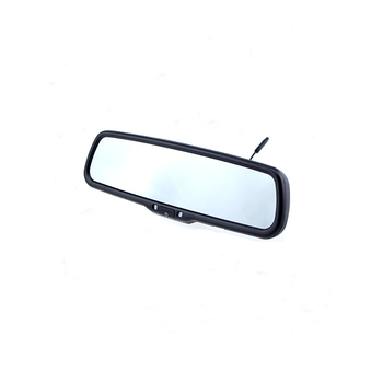 "4.3"" OEM Car Rearview Mirror with Super High Brightness LCD Monitor & Integrated Bracket"