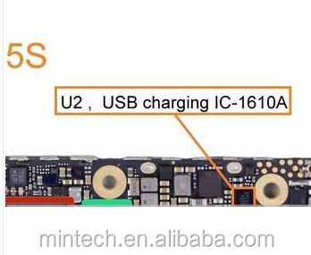 Replacement usb charging ic U2 ic 1610A1 36pins for iPhone 5 5S