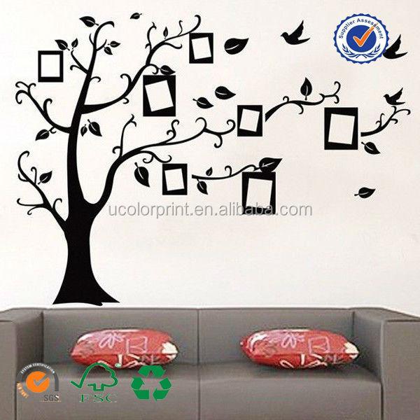 Custom Made Family Tree Adesivos De Parede Grande Mural De Vinil Adesivos  De Parede Part 92