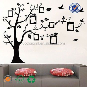 Custom Made Family Tree Wall Decals Large Mural Vinyl Wall Sticker