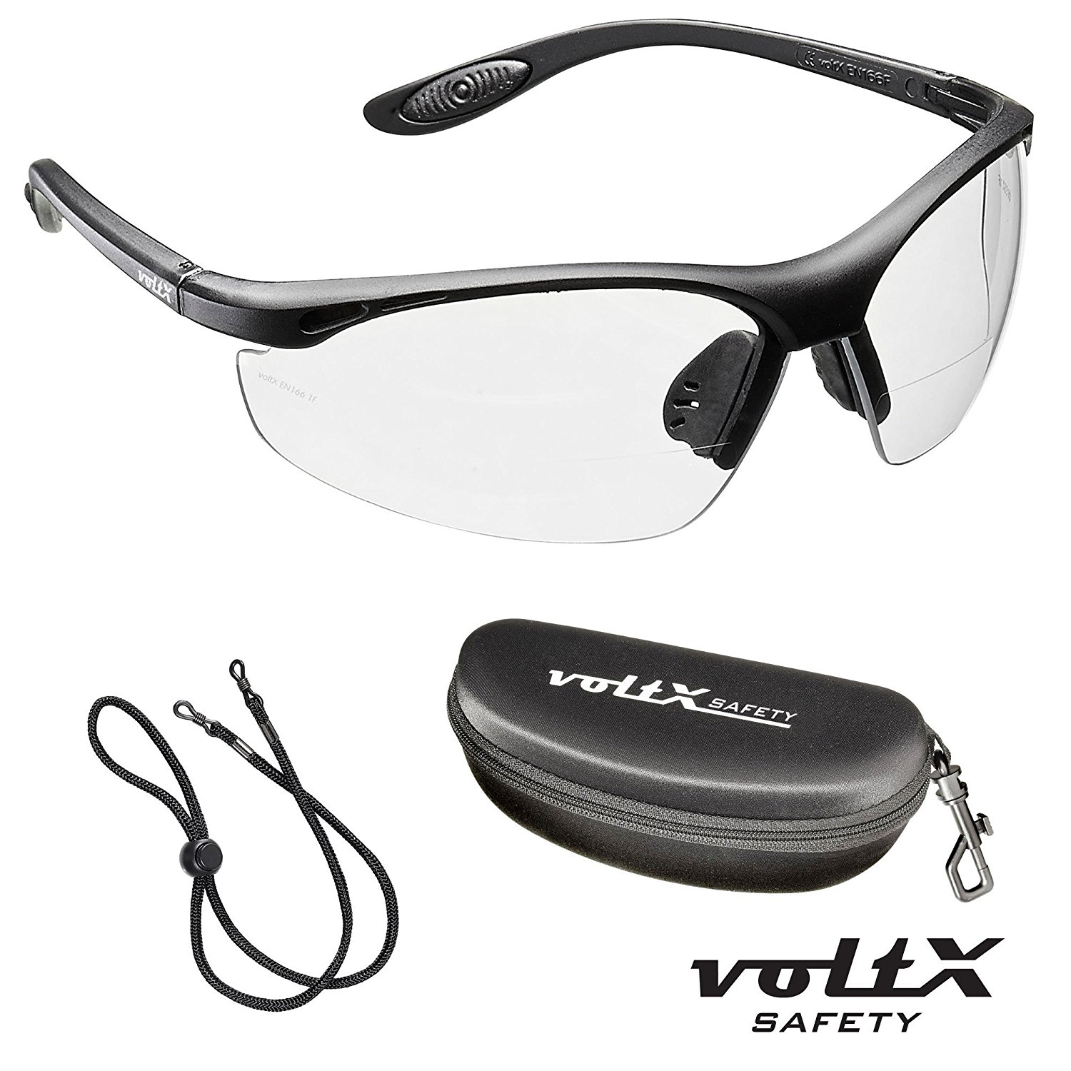 f4ebf5662e3 voltX  CONSTRUCTOR  BIFOCAL Reading Safety Glasses CE EN166F  certified Cycling Sports Glasses (