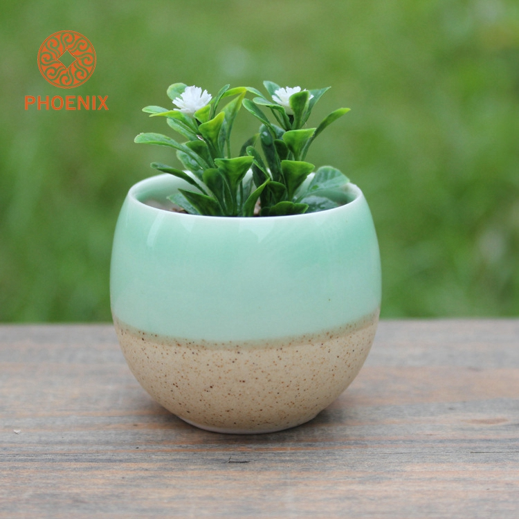 Wholesale Ceramic Plant Flower Planter Pot Set