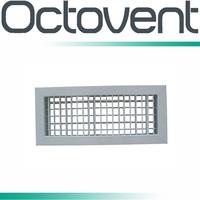 Octovent Motorized Hvac System Aluminium Air Vent Grille