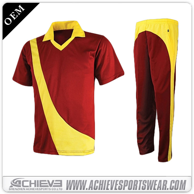 online shopping new design cricket polo t shirts/ cricket uniform for sale