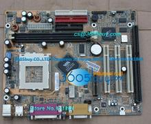 GA-6VEM Gigabyte industrial motherboard VIA 8601 Tualatin integrated graphics sound card