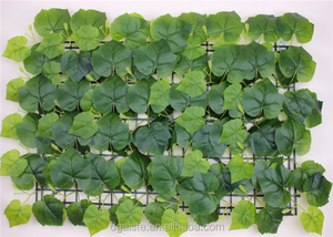 artificial grape vine wall hanging leaf grape-fruit leaf mat