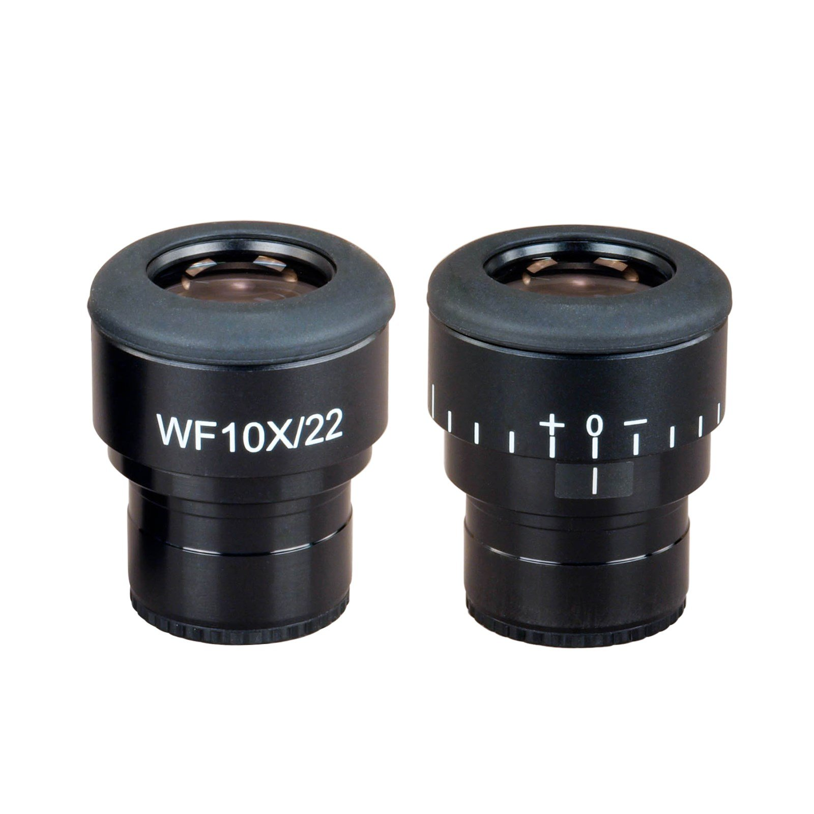 OMAX A Pair of Super Widefield Microscope Eyepieces WF10X/22 w Adjustable Diopter (30.0mm)
