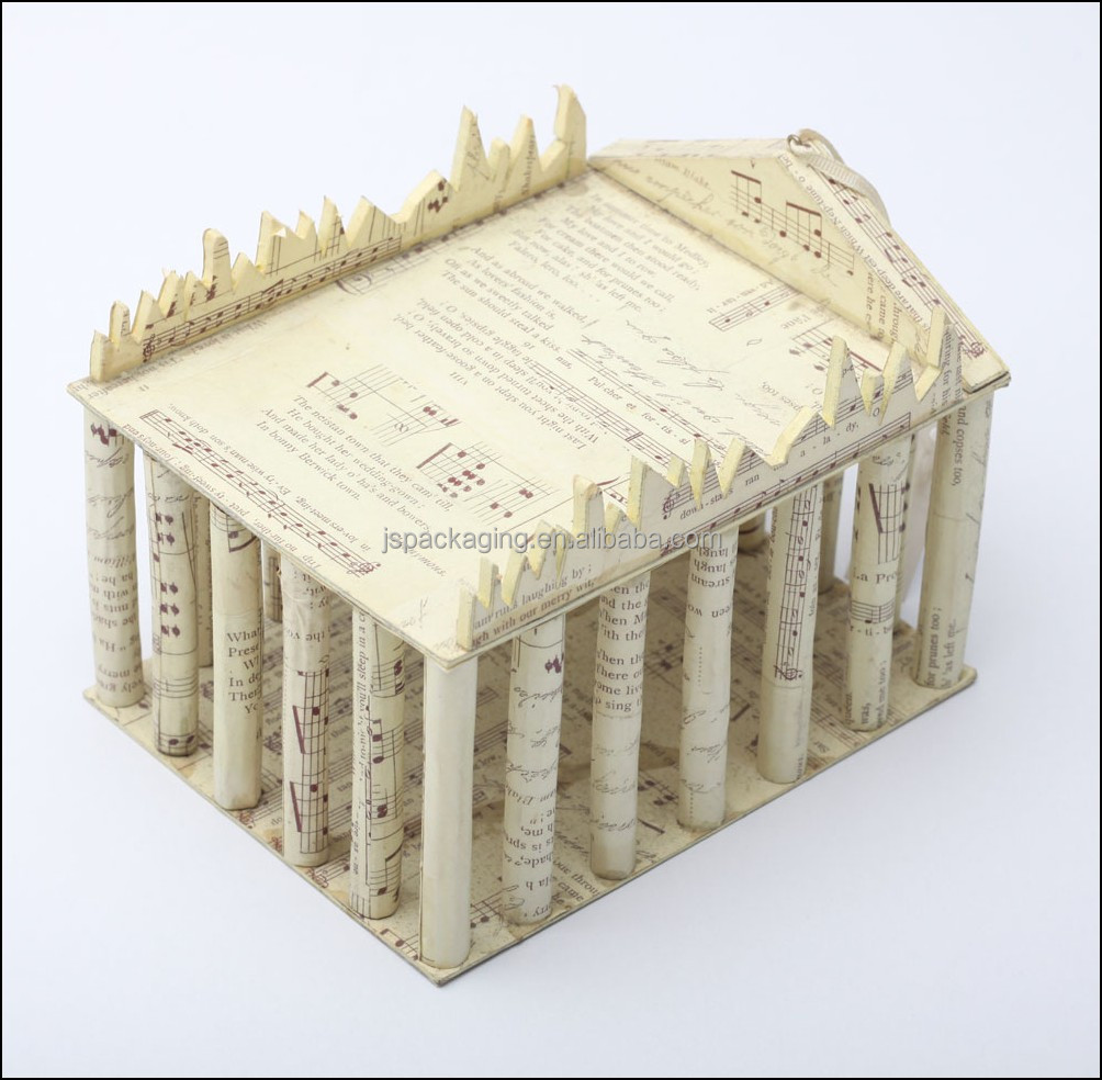 3d paper craft model paper model toys free paper card for Craft model with waste material