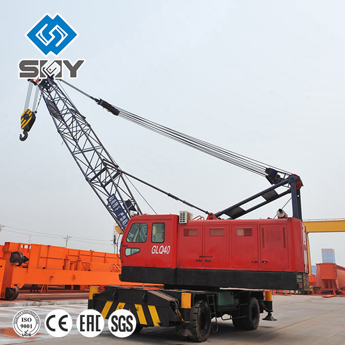 35 Ton High Quality Truck Floating Crane for Sale