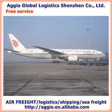 Air freight and express forwarder for polyester brushed fancy yarn air logistics