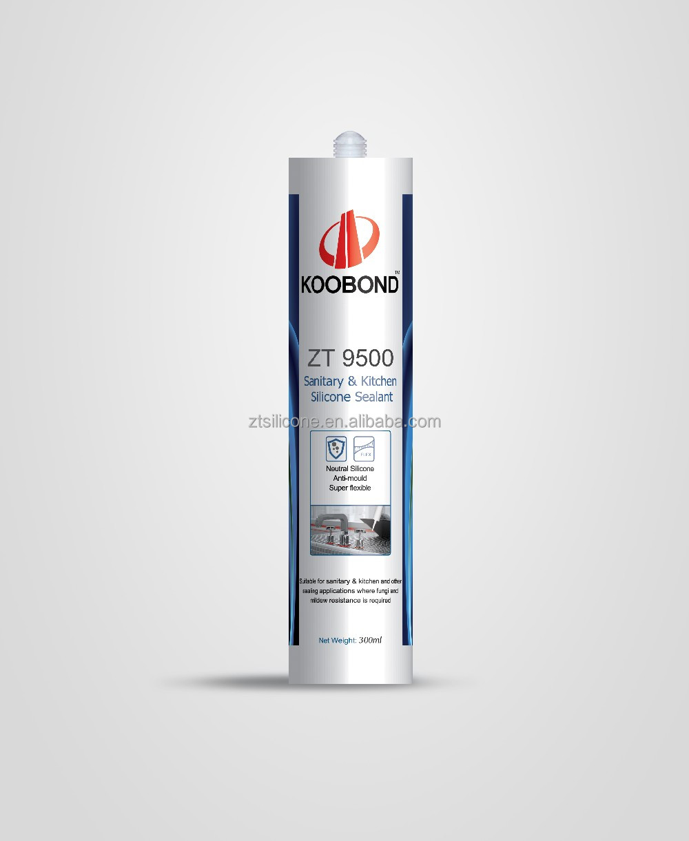 Clear Antibacterial Silicone Sealant