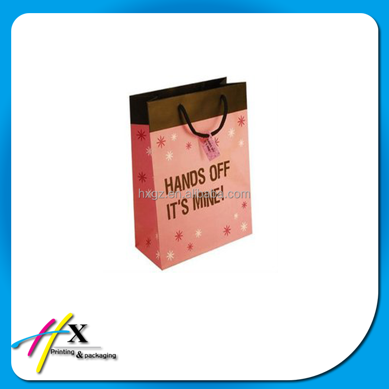 China High Quality custom professional shopping gift paper bag Wholesale