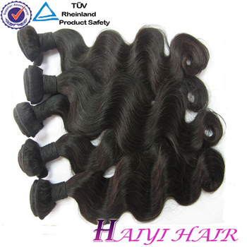 Indian Virgin Hair Extenion,100% Unprocessed Natural Wave raw indian hair