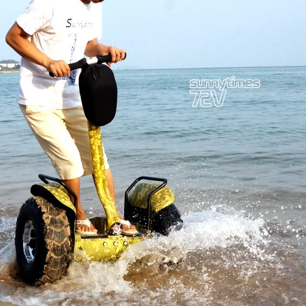 Sunnytimes waterproof electric chariot x2 Personal transporter 2 wheel self balancing off road