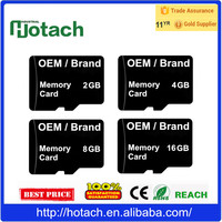 OEM Logo 4GB 8GB 16GB 32GB Flash Memory Card Secure Digital for Cell Phone